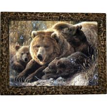 Картина Медведица и медвежата M6-R11